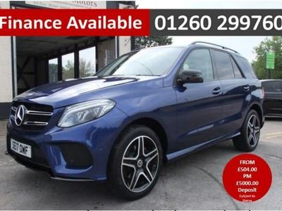 used Mercedes GLE350 GLE 3.0D 4MATIC AMG LINE 5DR AUTOMATIC