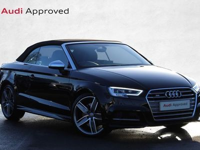 used Audi A3 Cabriolet S3 TFSI 300 Quattro 2dr S Tronic Automatic