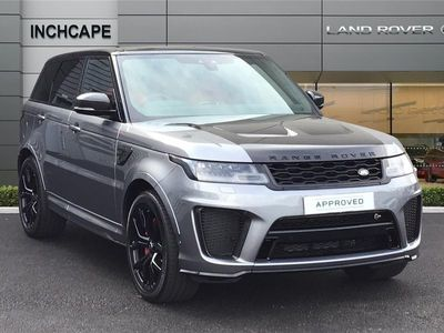 used Land Rover Range Rover Sport 5.0 P575 V8 SVR SUV 5dr Petrol Auto 4WD (s/s) (575 ps)