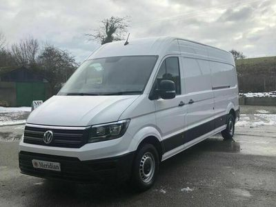 used VW Crafter CR35 TDI LWB HIGH ROOF STARTLINE 140PS, 2019 (19)