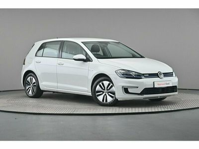 used VW e-Golf 136PS 1-speed automatic