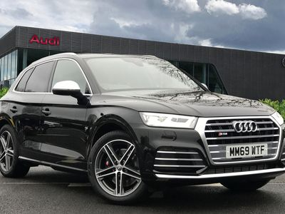 used Audi Q5 TDI 347 PS tiptronic