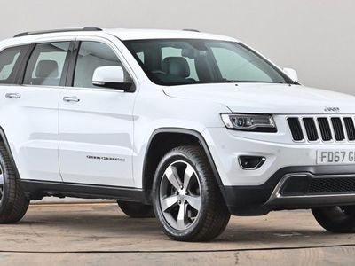 used Jeep Grand Cherokee 3.0 CRD Limited Plus 5dr Auto [Start Stop] White Automatic Diesel
