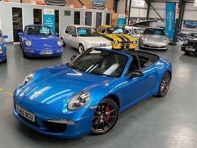 used Porsche 911 Carrera S Cabriolet 3.8 CARRERA S PDK 2d 400 BHP