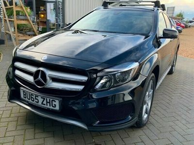 used Mercedes GLA200 GLA Class 2.1d (134bhp)AMG Line (s/s) Station Wagon 5d 2143cc 7G-DCT