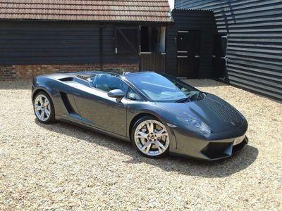 used Lamborghini Gallardo 5.2 V10 LP560-4 Spyder E-Gear 4WD 2dr