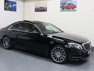 used Mercedes S350 S Class 3.0AMG Line (Premium) G-Tronic+ (s/s) 4dr