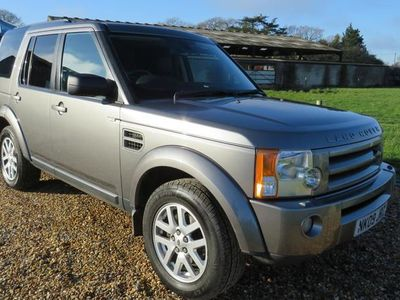 used Land Rover Discovery 2.7 Td V6 XS 5dr Auto [Leather]