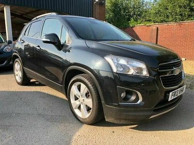 used Chevrolet Trax LT 4WD 1.4 5dr