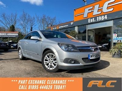 used Vauxhall Astra Cabriolet 1.6 TWIN TOP SPORT 3d 114 BHP