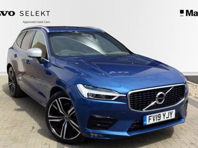 used Volvo XC60 2.0 D4 R DESIGN Pro 5dr AWD Geartronic Estate 2019