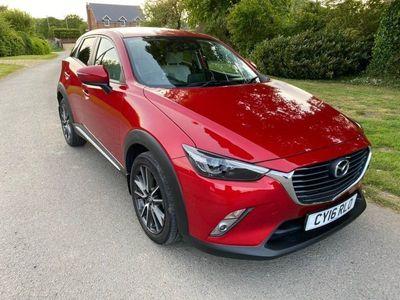 used Mazda CX-3 2.0 SKYACTIV-G Sport Nav Auto (s/s) 5dr