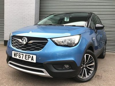 used Vauxhall Crossland X 1.2T [130] Elite Nav 5Dr [Start Stop]
