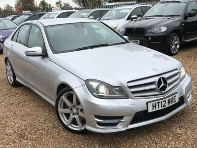 used Mercedes C250 C Class 1.8BlueEFFICIENCY Sport 7G-Tronic 4dr