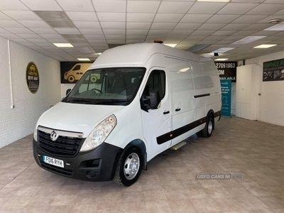 used Vauxhall Movano R3500 L4H3 CDTI DR