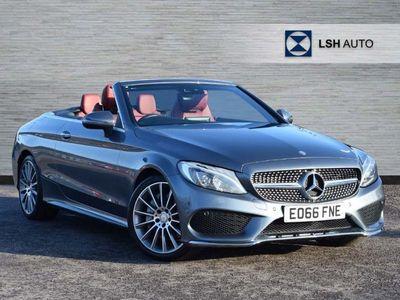 used Mercedes C250 C ClassAMG Line Premium Plus 2dr Auto Cabriolet diesel cabriolet