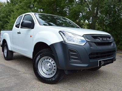 used Isuzu D-Max 1.9 TD Utility Extended Cab Pickup 4WD EU6 2dr