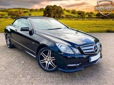 used Mercedes E250 E-Class CabrioletCDI BEFF Sport Edition 125 2d Tip Auto