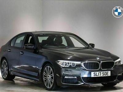 used BMW 520 5 Series 2.0TD d M Sport (188bhp) xDrive Saloon 4d Auto