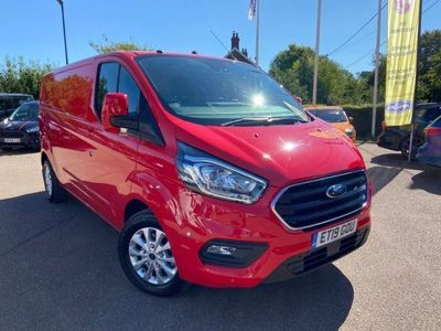 used Ford Custom Transit2.0 EcoBlue 170ps Low Roof Limited Van Auto