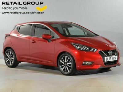 used Nissan Micra 1.0 IG-T 100 Tekna 5dr Xtronic
