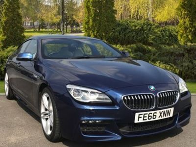 used BMW 640 6 Series d M Sport 4dr Auto, 2017, Saloon, 18700 miles.
