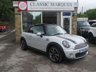 used Mini One Cabriolet 2014 MINI CONVERTIBLE 1.6 ONE HIGHGATE 2d 98 BHP Convertible 2014