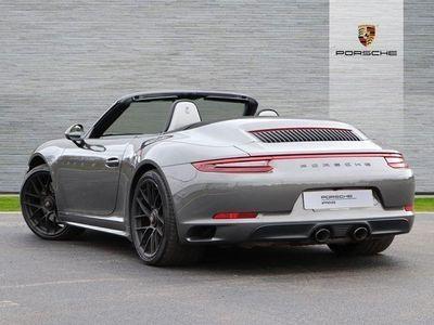 used Porsche 911 Carrera 4 Cabriolet (991) Carrera 4 GTS 2dr PDK Convertible 2019