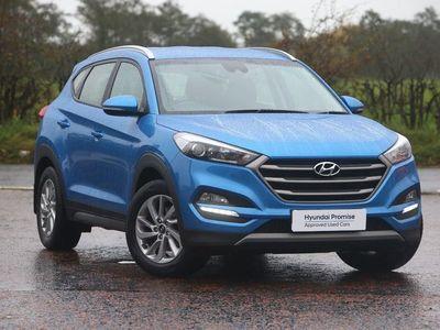 used Hyundai Tucson 1.7 CRDi Blue Drive SE Nav 5dr 2WD suv 2017
