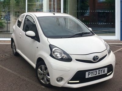 used Toyota Aygo 1.0 VVT-i Fire Hatchback 3dr Petrol Manual (99 g/km, 67 bhp)
