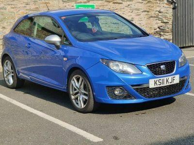 used Seat Ibiza 1.4 TSI FR SportCoupe DSG 3dr