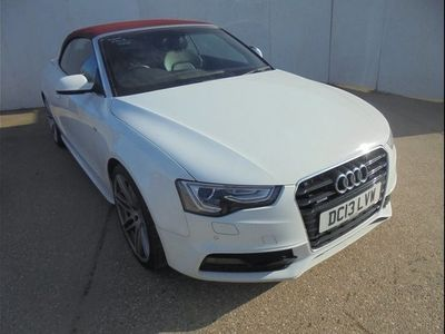 used Audi A5 3.0 TDI 245 Quattro S Line Special Ed 2dr S Tronic White Automatic Diesel