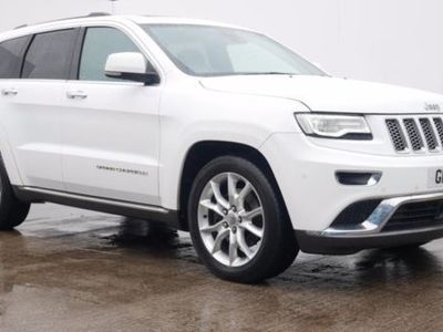 used Jeep Grand Cherokee 3.0 CRD Summit 5dr Auto White Automatic Diesel