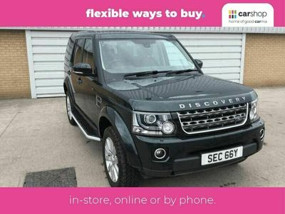 used Land Rover Discovery 4 3.0TD SE
