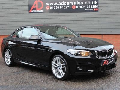 used BMW 228 2 Series 2.0 i M Sport Auto (s/s) 2dr