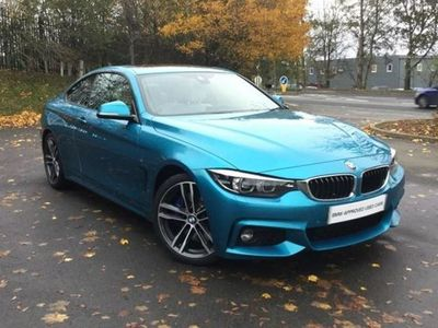 used BMW 430 4 Series i M Sport 2dr Auto [Professional Media] Petrol Coupe