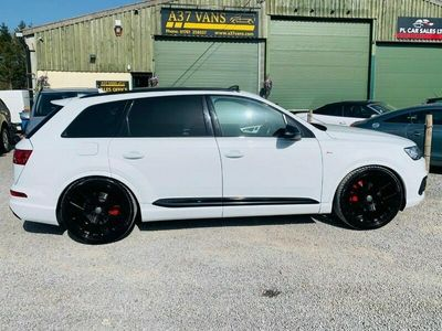 used Audi SQ7  Q7 TDI QUATTRO STUNNING S LINE WITHSTYLING 14K WORTH OF EXTRAS AUTO EURO 5-Door