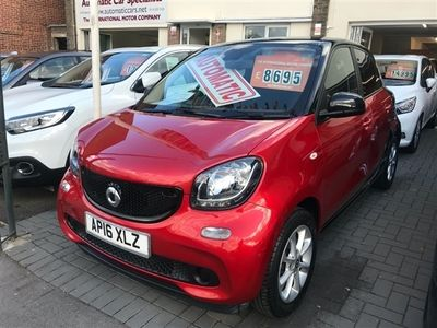 used Smart ForFour 1.0 Passion Premium 5dr AUTOMATIC AUTOMATIC 6,495 MILES 1 OWNER FULL SERVICE HISTORY., 2016 ( )