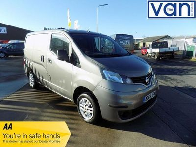 used Nissan NV200 1.5 DCI TEKNA 90 BHP WITH AIRCON, NAV, CRUISE, REAR PARKING CAME