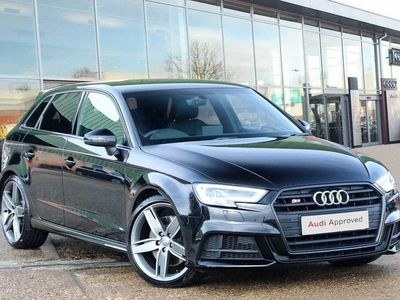 used Audi A3 S3 TFSI Quattro Black Edition 5dr S Tronic Hatchback 2018