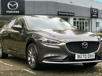 used Mazda 6 6Saloon 2.0 145ps SE-L Nav+ / Cloth 4dr