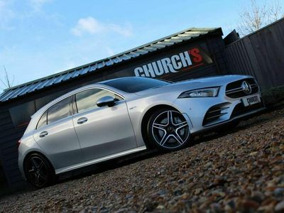 used Mercedes A35 AMG A Class 2.0(Premium) SpdS DCT 4MATIC (s/s) 5dr