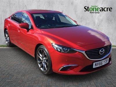 used Mazda 6 2.0 Sport Nav 4dr Saloon 2017