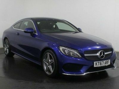 used Mercedes C250 C CLASS COUPE 2.1D AMG LINE 2d 201 BHP SAT NAV Heated Leather Seats Act