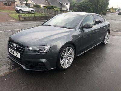 used Audi A5 2.0 TDI QUATTRO BLACK EDITION PLUS 5DR SEMI AUTOMATIC