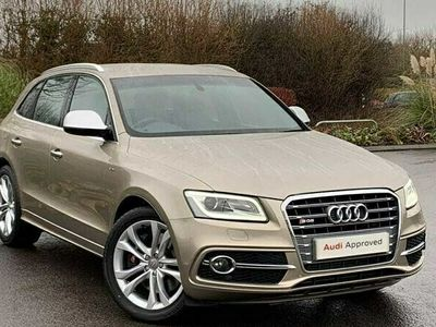 used Audi SQ5 3.0 TDI quattro 326 PS tiptronic