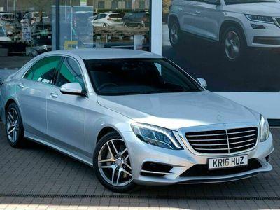 used Mercedes S350L S Class 3.0d AMG Line (Executive Premium Plus) 9G-Tronic Plus (s/s) 4dr