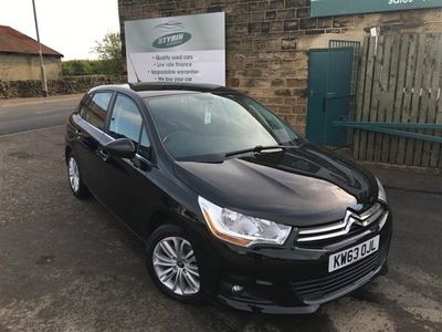 used Citroën C4 1.6 E-HDI AIRDREAM VTR PLUS 5d 115 BHP Service History
