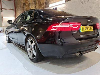 used Jaguar XE Saloon R-Sport 20t 2.0 Turbocharged 200PS auto 4d