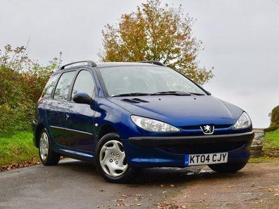 used Peugeot 206 SW 1.4 8v S 5dr (a/c)